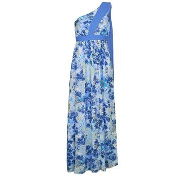 Abbigliamento Donna Abiti lunghi Manoukian 613356 Blu