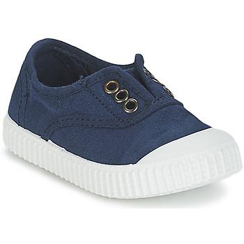 Scarpe Unisex bambino Sneakers basse Victoria INGLESA LONA TINTADA Marine
