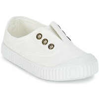 Scarpe Unisex bambino Sneakers basse Victoria INGLESA LONA TINTADA Bianco
