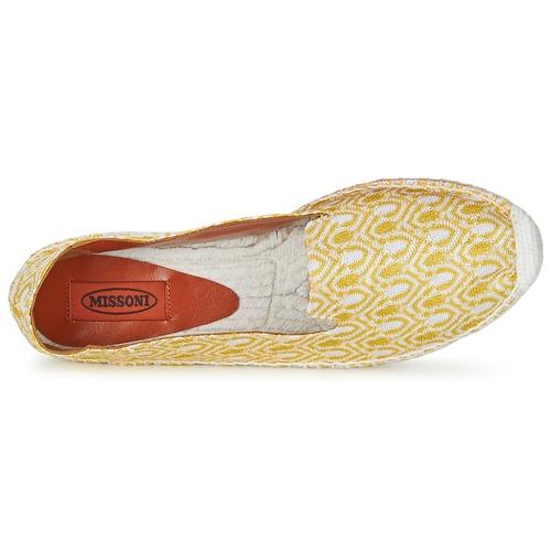 Missoni Espadrillas Gratuita Consegna Scarpe Xm029 10600 Giallo Donna 3Rj54qAL
