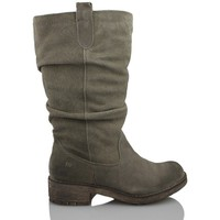 Scarpe Donna Stivaletti MTNG MUSTANG MUJER COW BJ SERRAJE GRIS