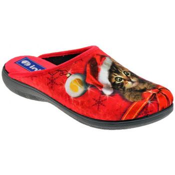 Scarpe Donna Ciabatte Inblu Gattino Pantofole multicolore
