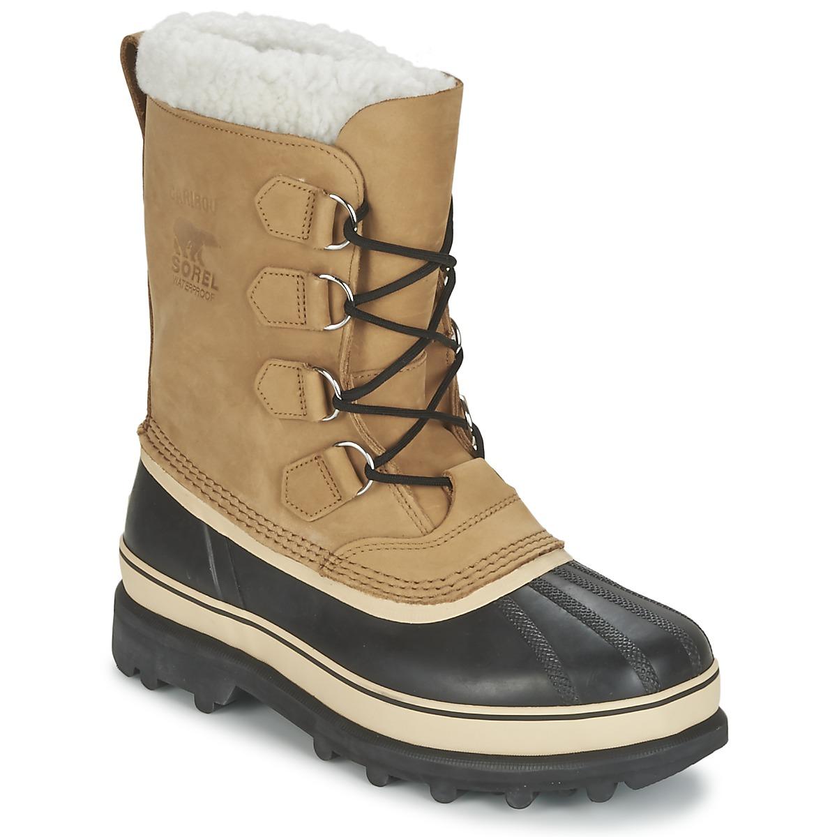 Stivale Da Neve Uomo Grande Scelta Di Stivali Consegna Bettina Sandal Beige Scarpe Sorel Caribou