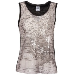 Abbigliamento Donna Top / T-shirt senza maniche Vero Moda MAP Nero / Grigio
