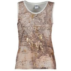 Abbigliamento Donna Top / T-shirt senza maniche Vero Moda MAP Beige / Bianco