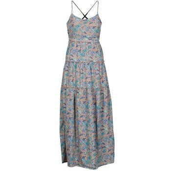 Abbigliamento Donna Abiti lunghi Vero Moda PAISILLA MACE Beige / Blu
