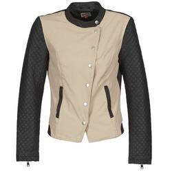 Abbigliamento Donna Giubbotti Only LICENS Beige / Nero