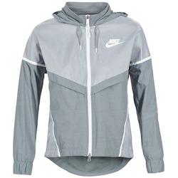 Abbigliamento Donna giacca a vento Nike TECH WINDRUNNER Grigio