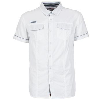 Abbigliamento Uomo Camicie maniche corte Deeluxe ISLANDO Bianco