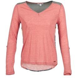 Abbigliamento Donna T-shirts a maniche lunghe Smash TIRAMISU Rosa