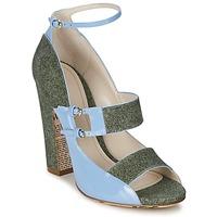 Scarpe Donna Sandali John Galliano A54250 Blu / Verde