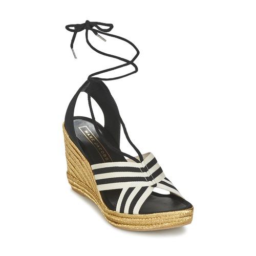 Marc Jacobs DANI Nero / Bianco  Scarpe Sandali Donna 192