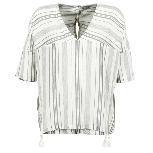Stella Forest OWONI Ecru   grau - Consegna gratuita   Spartoo    - Abbigliamento Camicette damen 58