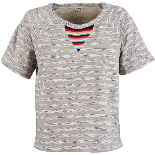 Manoush Grigio 9440 Donna Sweat Felpe Gratuita Etnic Consegna Abbigliamento hstQrd