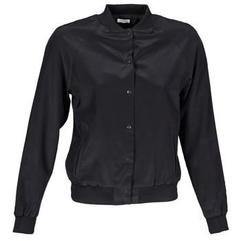 Abbigliamento Donna Giacche / Blazer Manoush TEDDY FLEUR SIATIQUE Nero