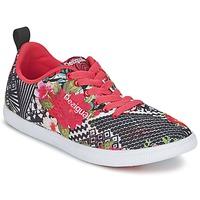 Scarpe Donna Sneakers basse Desigual FUN-EVA Nero / Rosso