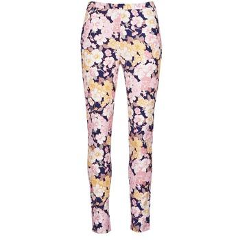 Abbigliamento Donna Pantaloni 5 tasche Gant 414705 Rosa / Blu