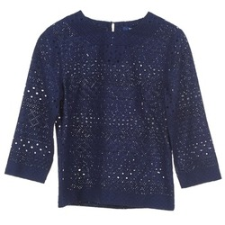 Abbigliamento Donna Top / Blusa Gant 431951 Blu