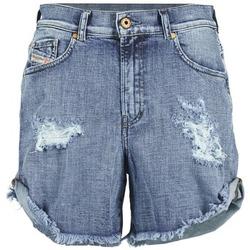 Abbigliamento Donna Shorts / Bermuda Diesel DE SCOTT Blu