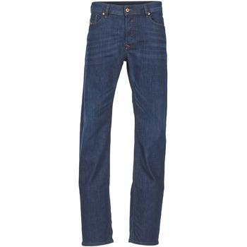 Abbigliamento Uomo Jeans dritti Diesel WAYKEE Blu / SCURO
