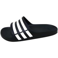 Scarpe Sandali sport adidas Performance Duramo Slide Noir / Blanc / Noir
