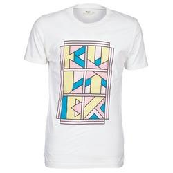 Abbigliamento Uomo T-shirt maniche corte Kulte ANATOLE BLOCK Bianco