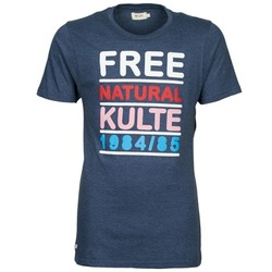 Abbigliamento Uomo T-shirt maniche corte Kulte AUGUSTE FREE Blu