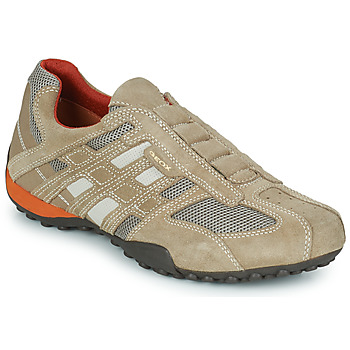 Scarpe Uomo Sneakers basse Geox SNAKE Beige