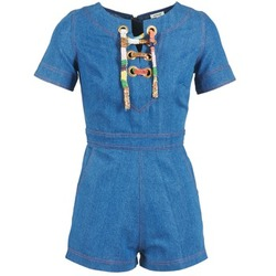 Abbigliamento Donna Tuta jumpsuit / Salopette Manoush LACET Blu / Jean