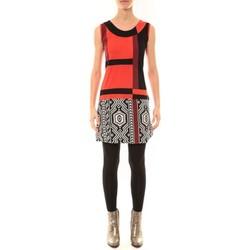 Abbigliamento Donna Abiti corti Bamboo's Fashion Robe BW648 rouge Rosso