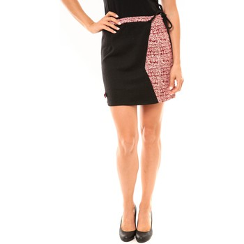 Abbigliamento Donna Gonne Bamboo's Fashion Jupe BW668 noir Nero