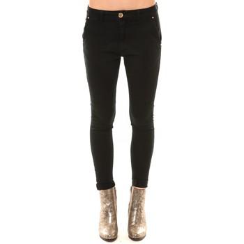 Abbigliamento Donna Jeans slim Comme Des Filles Comme des Garçons Chino GY123 noir Nero