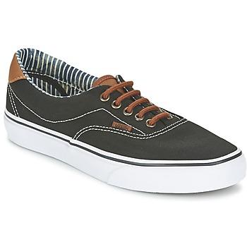 Scarpe Sneakers basse Vans ERA 59 Nero / A righe / DENIM