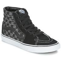 Scarpe Sneakers alte Vans SK8-HI Grigio / Marrone