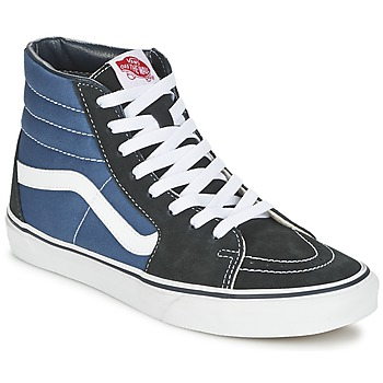 Scarpe Sneakers alte Vans SK8-HI MARINE / Nero