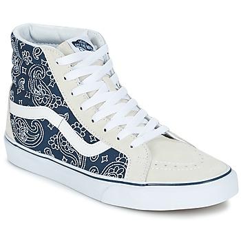 Scarpe Sneakers alte Vans SK8-HI REISSUE Blu / Bianco