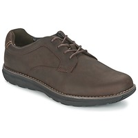 Scarpe Uomo Derby Timberland BARRETT PT OXFORD Marrone / Scuro