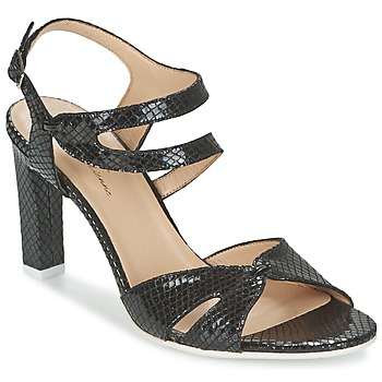 Scarpe Donna Sandali France Mode ZALIUM Nero