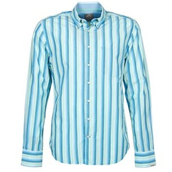 Abbigliamento Uomo Camicie maniche lunghe Gaastra SUMMERJAM Blu / Bianco