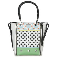 Borse Donna Borse a spalla Barbara Rihl CO IN BALI ZIPPER MED Bianco / Multicolore