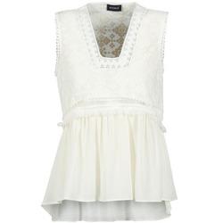 Abbigliamento Donna Top / T-shirt senza maniche Kookaï VACHOVA Bianco
