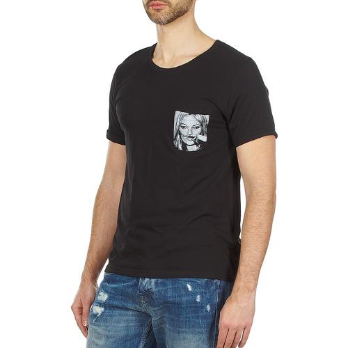 T shirt Maniche Uomo Eleven 2000 Consegna Corte Kmpock Paris Nero Gratuita Abbigliamento MUzVSLqpG