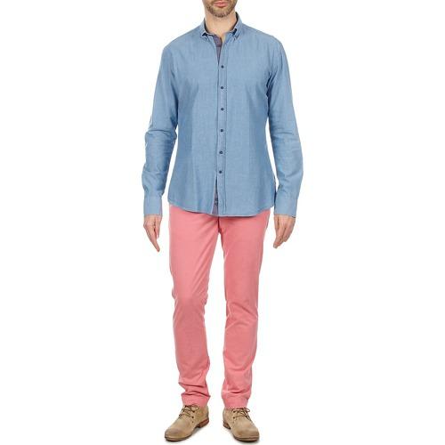 7250 Hackett Lunghe Blu Camicie Uomo Gratuita Maniche Riley Abbigliamento Consegna iTkXOuZP