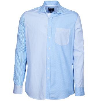 Abbigliamento Uomo Camicie maniche lunghe Hackett GORDON Blu