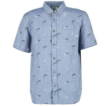Abbigliamento Uomo Camicie maniche corte Vans HOUSER SS Blu