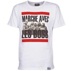 Abbigliamento Uomo T-shirt maniche corte Wati B BOSS Bianco