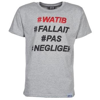 Abbigliamento Uomo T-shirt maniche corte Wati B NEGLIGER Grigio