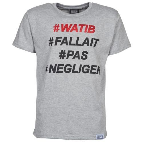 Uomo Grigio Gratuita Wati Maniche Consegna T 1560 Negliger shirt Corte B Abbigliamento ZkiTOuPX