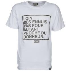 Abbigliamento Uomo T-shirt maniche corte Wati B LOIN Bianco