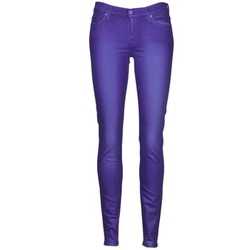 Abbigliamento Donna Jeans slim 7 for all Mankind THE SKINNY VINE LEAF Blu